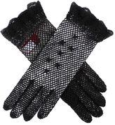 Dents Ladies cotton crochet gloves