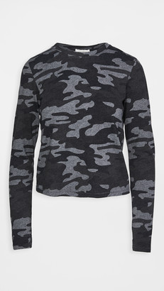 Z Supply Modern Camo Long Sleeve Tee