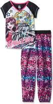 Monster High Big Girls' 2 Piece Pant Set