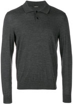 Z Zegna longsleeved polo shirt