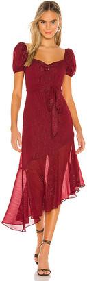 Privacy Please Birkin Midi Dress