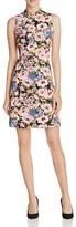 Rebecca Taylor Lavinia Floral Print Dress
