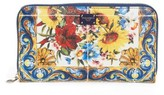 Dolce & Gabbana Women's Dauphine Print Leather Wallet - None