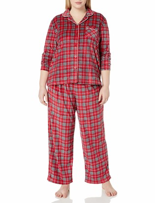 Karen Neuburger Family Sleepwear Fleece Holiday Pajama Set