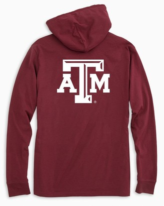 Southern Tide Texas A&M Aggies Long Sleeve Hoodie T-Shirt