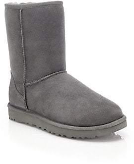 UGG Women's Classic Short II Sheepskin-Lined Suede Boots
