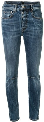 Unravel Project Low Rise Skinny Jeans