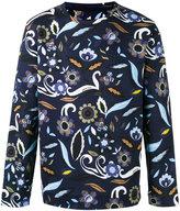 Fendi printed sweatshirt - men - Cotton/Polyamide - 48