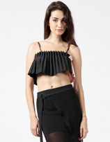 Opening Ceremony Black Multi Lotte Bralette Top