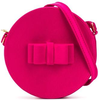 Little Marc Jacobs bow-embellished circle bag