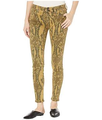 Current/Elliott The Stiletto Jeans in Large Burme Python