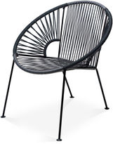 Mexa Ixtapa Lounge Chair, Gray/Black
