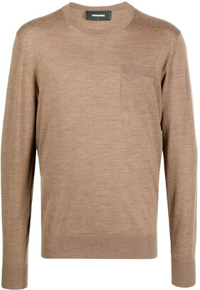 DSQUARED2 Logo Wool Pullover