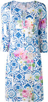 Blumarine printed dress - women - Nylon/Spandex/Elastane - M