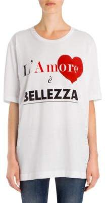 Dolce & Gabbana Amore Cotton Tee