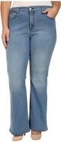 NYDJ Plus Size Plus Size Farrah Flared Jeans in Monaco