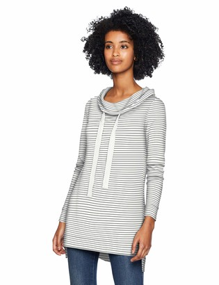 Daily Ritual Amazon Brand Women's Supersoft Terry Funnel-Neck Tunic