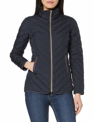 Geox Women's Phaolae Quilted Chevron Jacket Outerwear