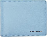 Burberry Blue Hipfold Wallet