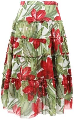 N. Luca Luca \N Red Silk Skirts