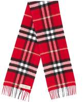 Burberry classic checked scarf
