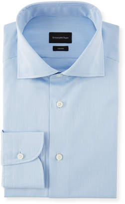 Ermenegildo Zegna Men's Cotton Check Dress Shirt