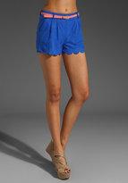 Simpson Suede Shorts