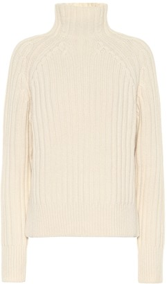 Polo Ralph Lauren Ribbed wool and cashmere sweater