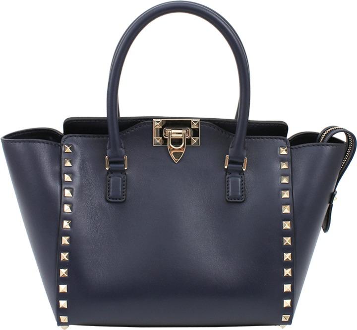 Valentino Rockstud Small Double Handle Bag