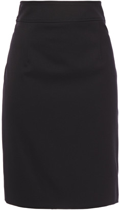 Carolina Herrera Stretch-wool Twill Pencil Skirt