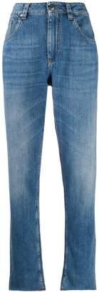 Brunello Cucinelli high-rise boyfriend fit jeans