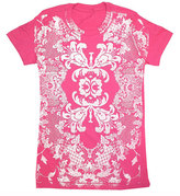 Mojoware Lace Floral Tee Women's