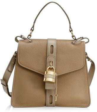 Chloé Medium Aby Leather Top Handle Bag