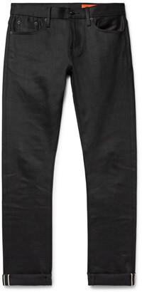 Jean Shop Jim Slim-Fit Selvedge Stretch-Denim Jeans