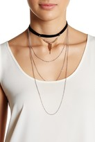 Stephan & Co Layered Chain Choker
