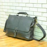 EAZO Large Genuine Leather Briefcase