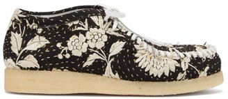 By Walid 19th-century Piano Shawl Trainers - Black