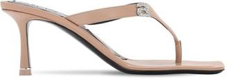 Alexander Wang 65mm Ivy Embellished Leather Sandals