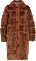 Ulla Johnson Ellaria Reversible Faux Shearling Coat