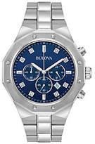 Bulova Men's Diamond Accent Chronograph Watch