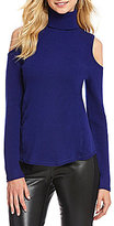 Antonio Melani Sherry Cold Shoulder Cashmere Sweater