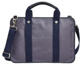 Skagen Men's Hulsten Coated Twill Briefcase - Blue