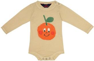 Baby Wasp cotton-jersey onesie