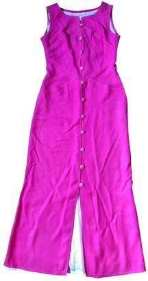 Courreges Pink Wool Dress for Women Vintage