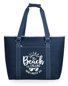 """ONIVA™ The Beach Is Calling And I Must Go"""" Tahoe Xl Cooler Tote Bag"""
