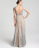 Sue Wong Gown - V Neck