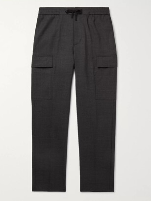 Officine Generale Geron Tapered Wool Cargo Trousers