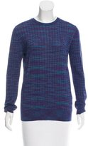 M Missoni Patterned Scoop Neck Sweater