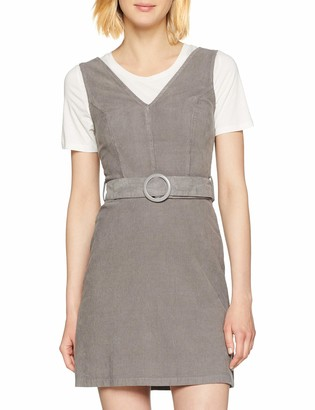New Look Women's Cord Belt Pinny 6157879 Dress