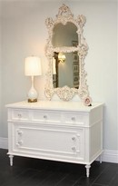 The Well Appointed House Marcheline Chest in Antico White